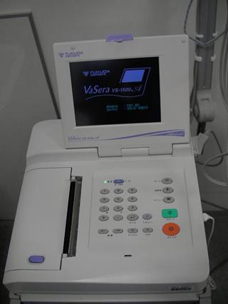 血圧脈波検査装置バセラ(AS-1500AN)