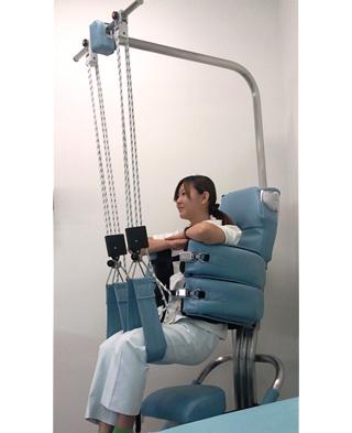 浮腰式運動療法腰痛治療機プロテックIII